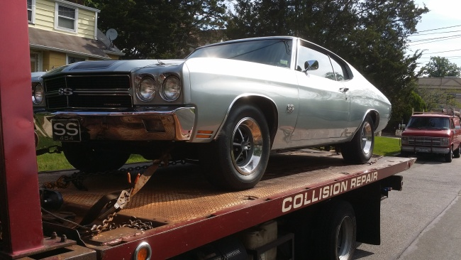 Angel Towing Chevelle