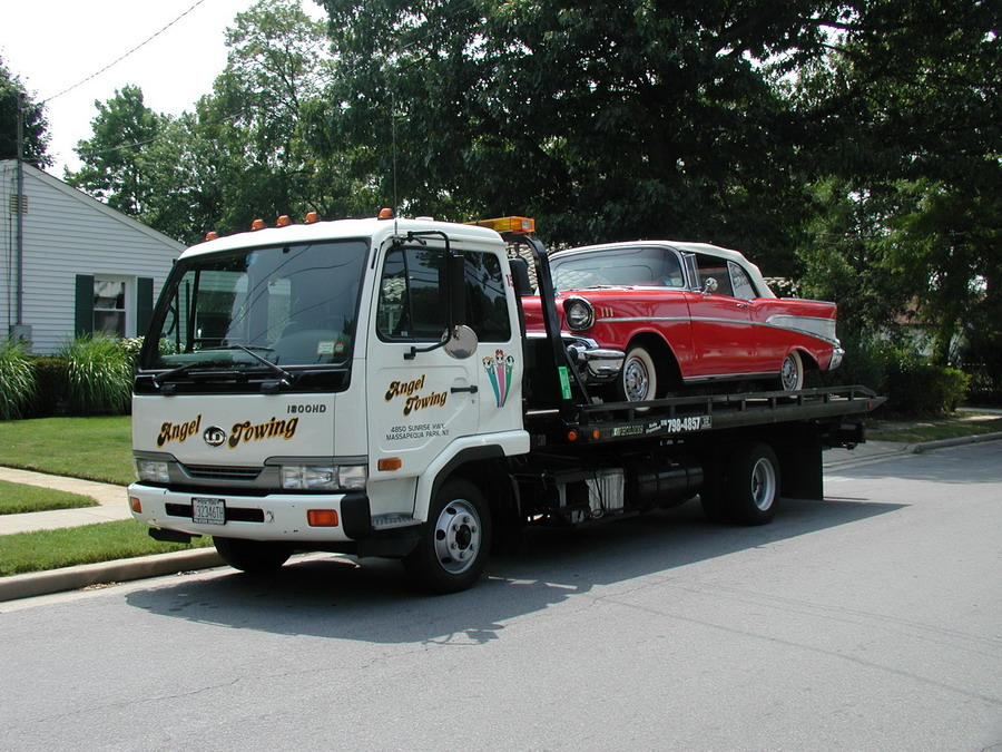 Angel Towing Flatbed