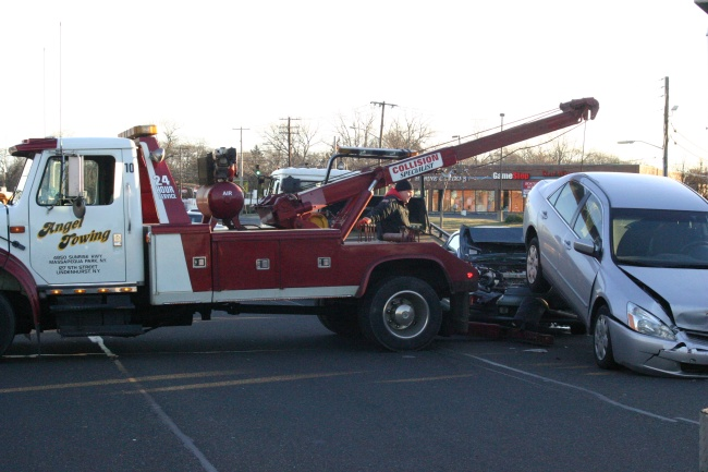 Angel Towing Accident Cleanup
